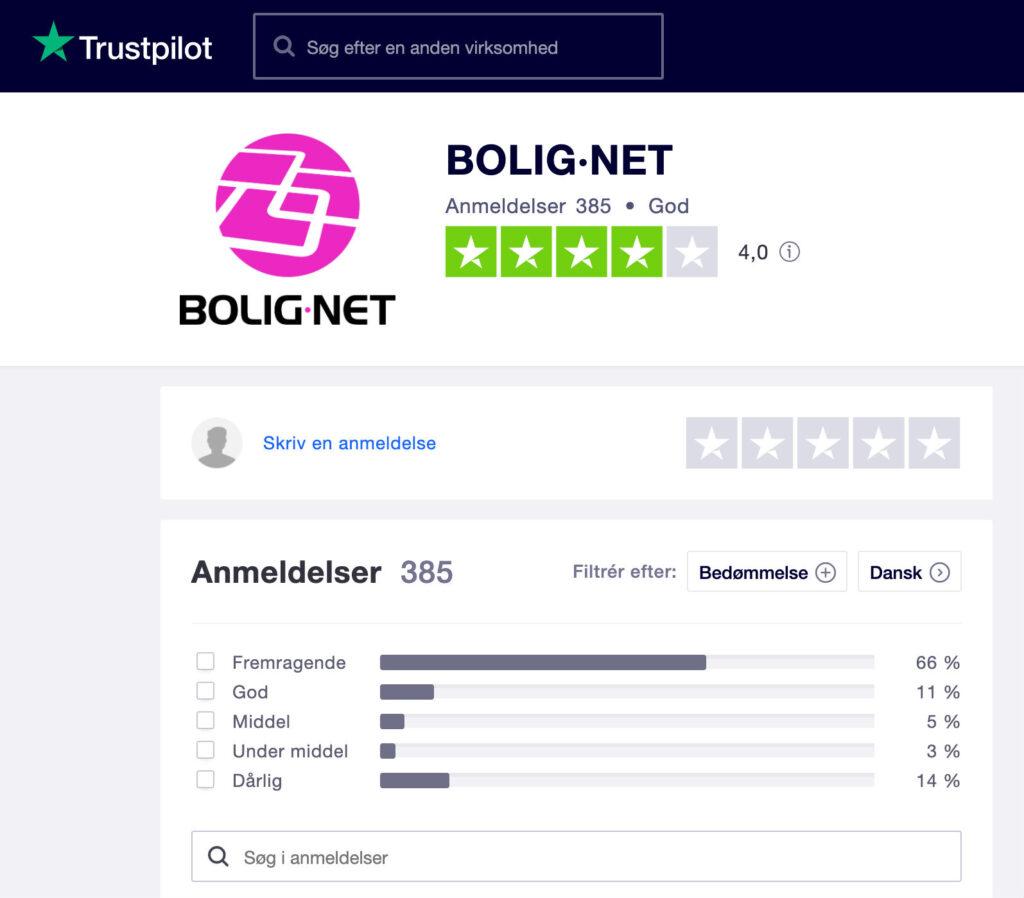 bolignet trustpilot anmeldelse