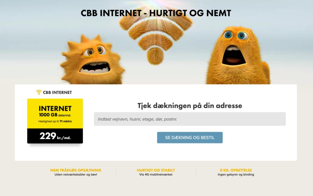 cbb 1000 mbit internet